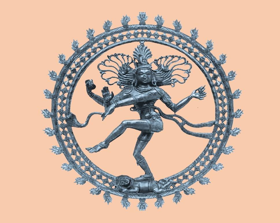 Imagem do Deus Shiva dançando TANDAVA